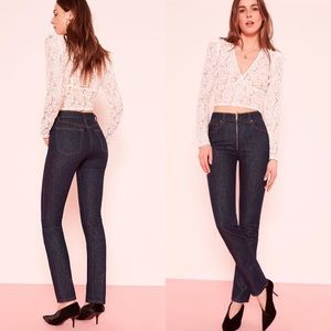 NWT reformation jeans